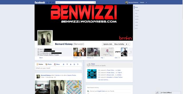 New Facebook Profile Timeline