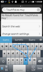 TouchPal Curve SP